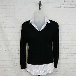 Lane Bryant mock 2 pc. Sweater sz 18/20